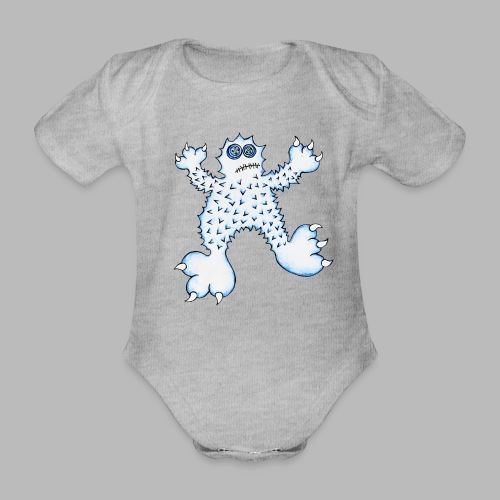 ABOMINABLE! - Organic Short-sleeved Baby Bodysuit