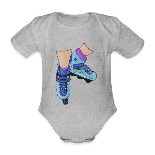 Rollerblade - Body ecologico per neonato a manica corta