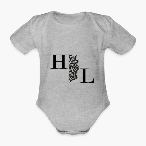 Houseology Official - HL Brand - Organic Short-sleeved Baby Bodysuit