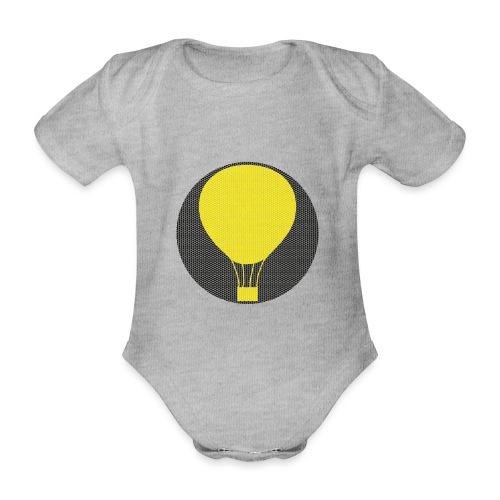 Heissluftballon - Baby Bio-Kurzarm-Body