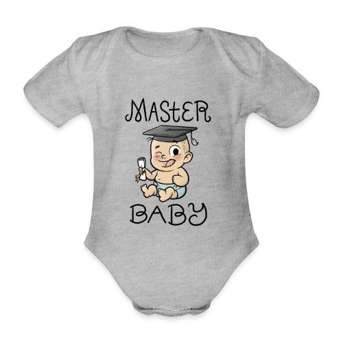 Master Baby - Baby Bio-Kurzarm-Body