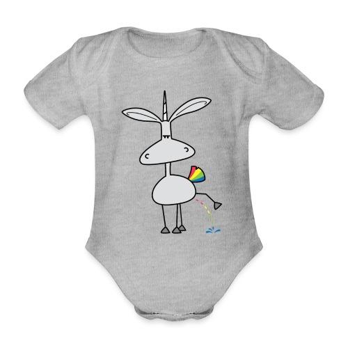 Dru - bunt pinkeln - Baby Bio-Kurzarm-Body