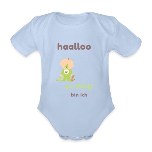 Der Scheff bin ich - Baby Bio-Kurzarm-Body