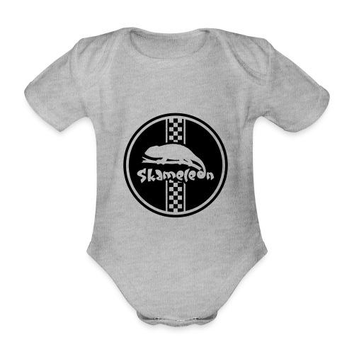 skameleon Logo - Baby Bio-Kurzarm-Body