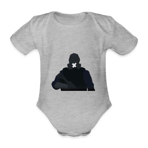 Mute - Ekologiczne body niemowlęce z krótkim rękawem