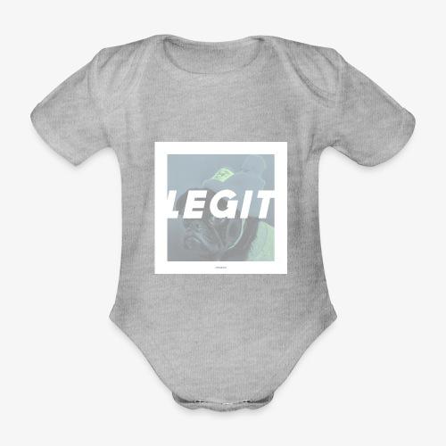 LEGIT #04 - Baby Bio-Kurzarm-Body
