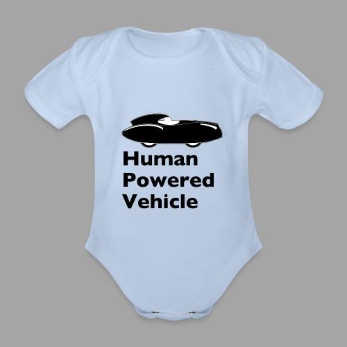 Quattrovelo Human Powered Vehicle black - Vauvan lyhythihainen luomu-body