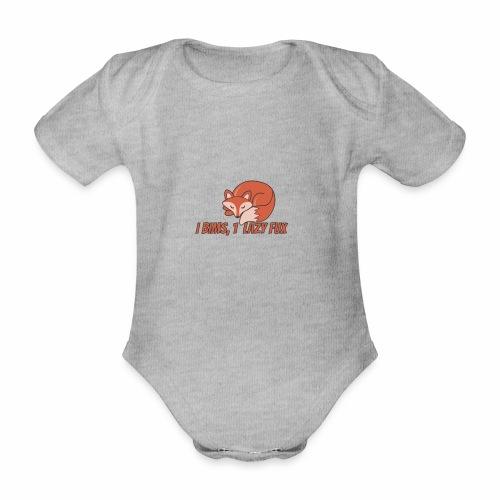 Fux | Fuchs | Schlaufuchs | Faul | Vong - Baby Bio-Kurzarm-Body