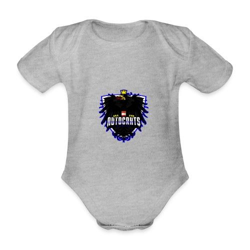 AUTocrats blue - Baby Bio-Kurzarm-Body