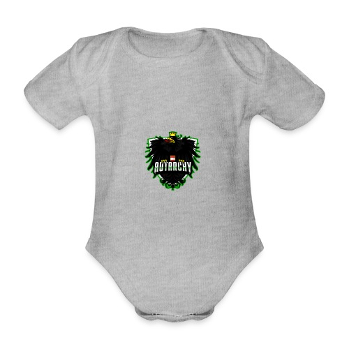 AUTarchy green - Baby Bio-Kurzarm-Body