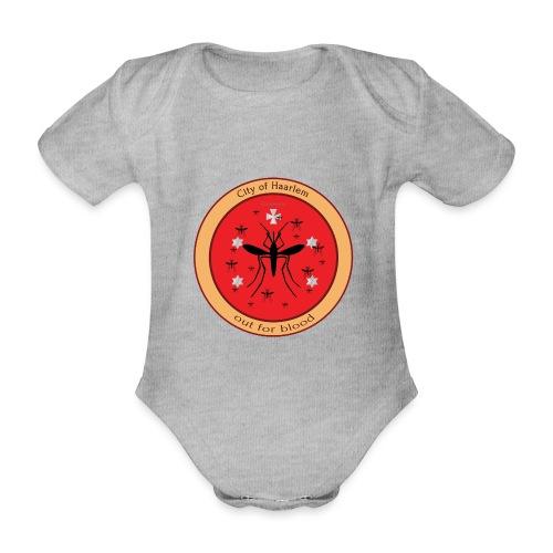 Haarlem GOT - Baby bio-rompertje met korte mouwen