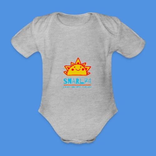 Sun - Body ecologico per neonato a manica corta