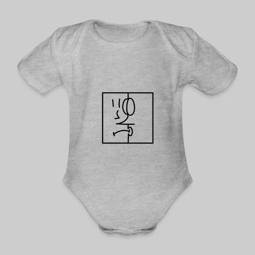 zwei Gesicht - Baby Bio-Kurzarm-Body