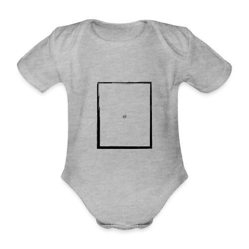 # in a box - Baby bio-rompertje met korte mouwen