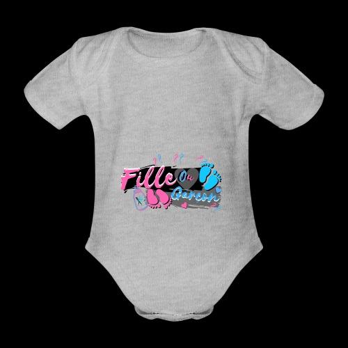 fille ou garçon femme enceinte bébé naissance - Body Bébé bio manches courtes