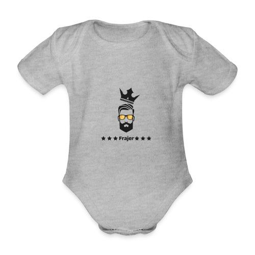 King Frajer - Baby Bio-Kurzarm-Body