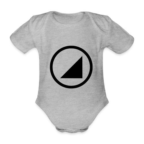 bulgebull dark brand - Organic Short-sleeved Baby Bodysuit