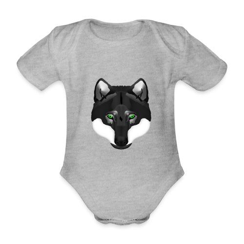 Wolf Head - Baby Bio-Kurzarm-Body