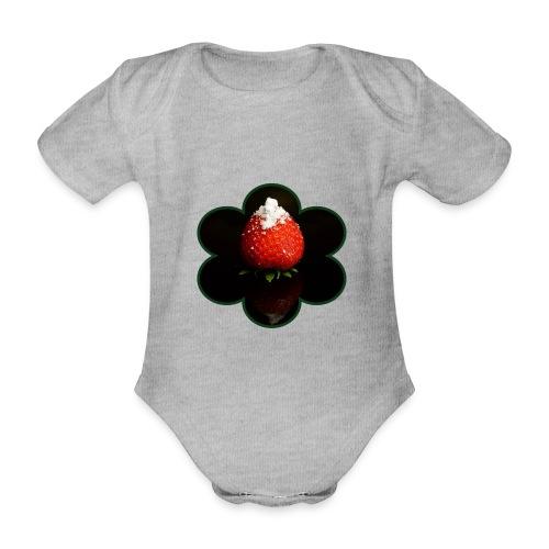 Süss zum.VERNASCHEN - Baby Bio-Kurzarm-Body