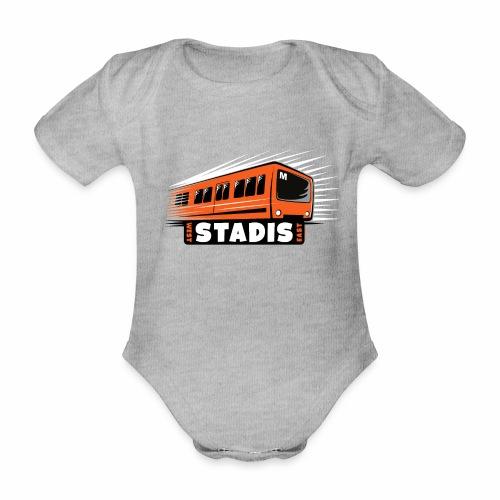 STADISsa METRO T-Shirts, Hoodies, Clothes, Gifts - Vauvan lyhythihainen luomu-body