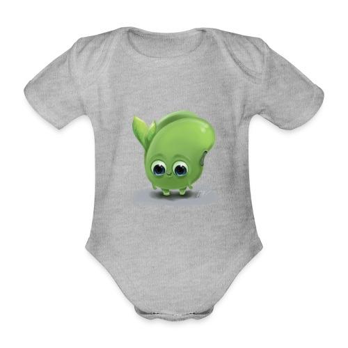Little green bean - Baby Bio-Kurzarm-Body