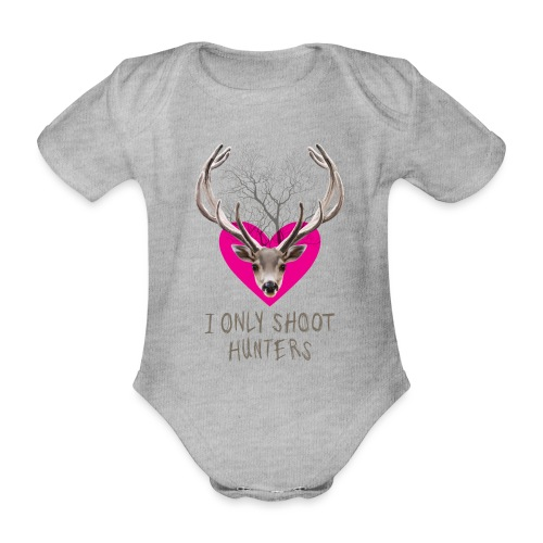 I ONLY SOOT - Organic Short-sleeved Baby Bodysuit