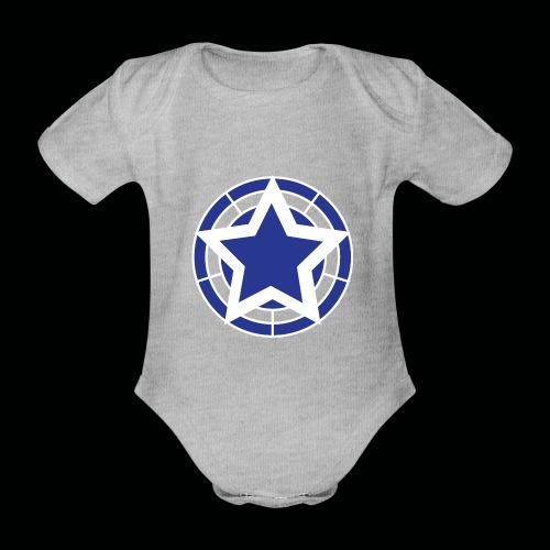 Stern Logo - Baby Bio-Kurzarm-Body