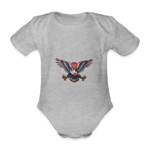 Aquila - Body ecologico per neonato a manica corta