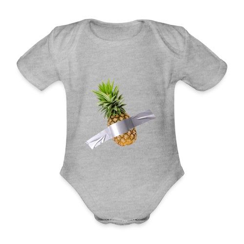 Pineapple Art - Body ecologico per neonato a manica corta