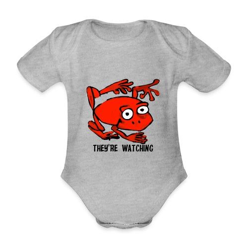 red frog - Body ecologico per neonato a manica corta