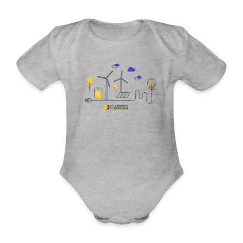 Erneuerbare Energien - Baby Bio-Kurzarm-Body