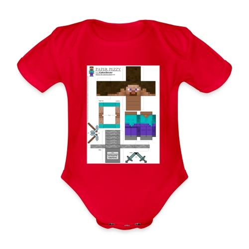 8bf7a61eb4b7f9db371452673ac05401 1 - Baby bio-rompertje met korte mouwen
