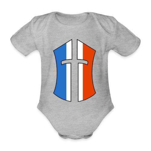 Logo Battle of the Nations France - Body Bébé bio manches courtes