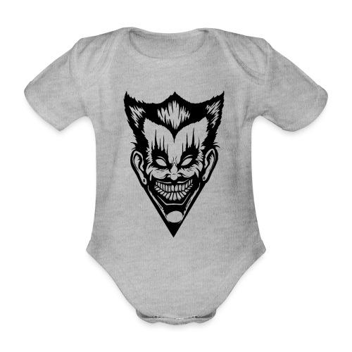 Horror Face - Baby Bio-Kurzarm-Body