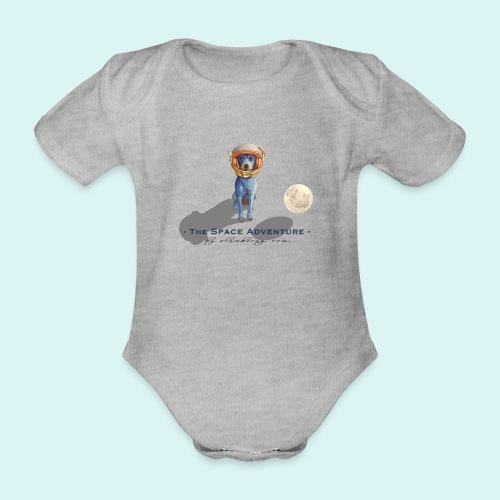 The Space Adventure - Organic Short-sleeved Baby Bodysuit
