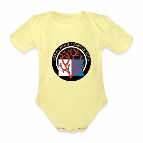 Royal Wolu Plongée Club - Body Bébé bio manches courtes