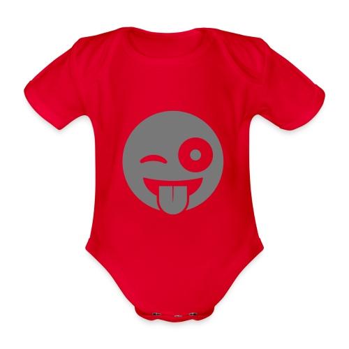 Emoji - Baby Bio-Kurzarm-Body