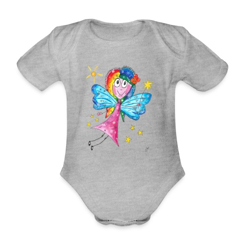 Happy Fairy 2 - Baby Bio-Kurzarm-Body