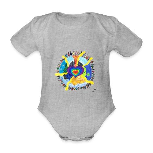 Herzwelt - Baby Bio-Kurzarm-Body