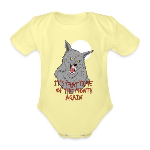 That Time of the Month - Ekologiczne body niemowlęce z krótkim rękawem