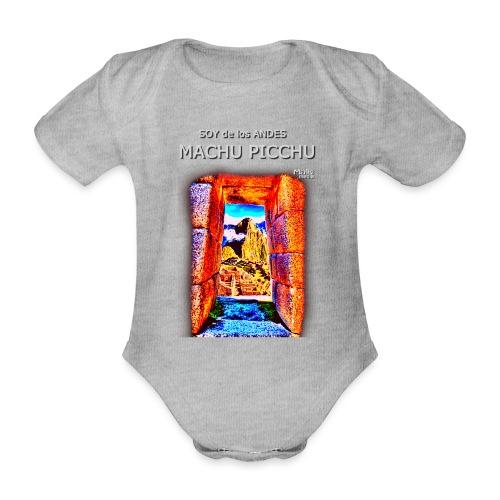 SOY de los ANDES - Machu Picchu I - Organic Short-sleeved Baby Bodysuit