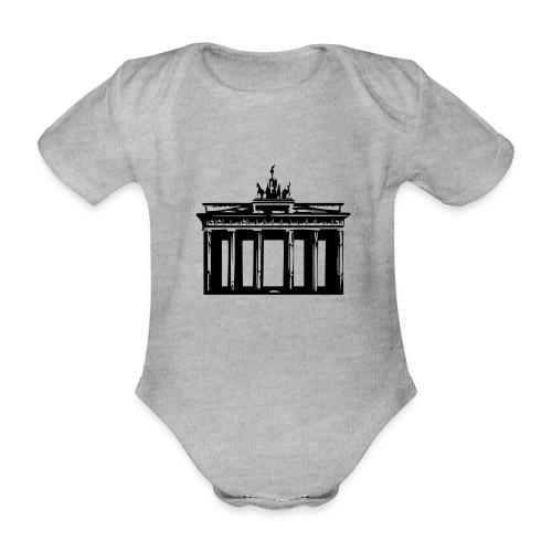 Brandenburger Tor - Baby Bio-Kurzarm-Body