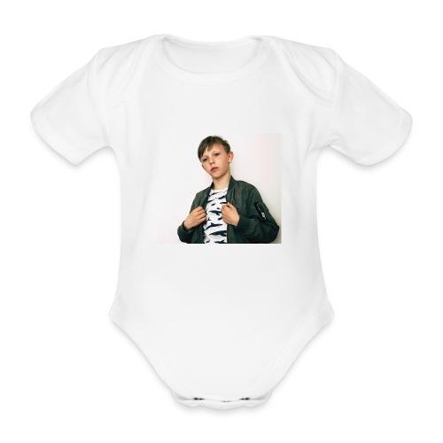 FE9C6D2A 8234 4306 9426 E7820F70FEA6 - Ekologisk kortärmad babybody