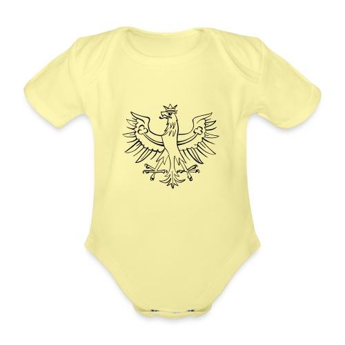 Echter Tiroler - Tirol Tiroler Adler - Baby Bio-Kurzarm-Body