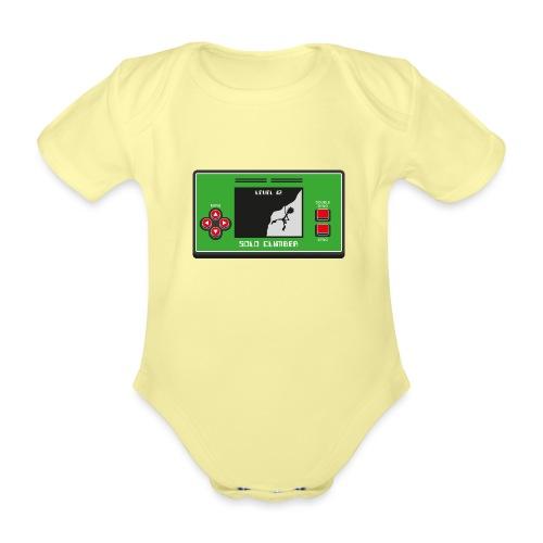 Solo Climber Telespiel - Baby Bio-Kurzarm-Body