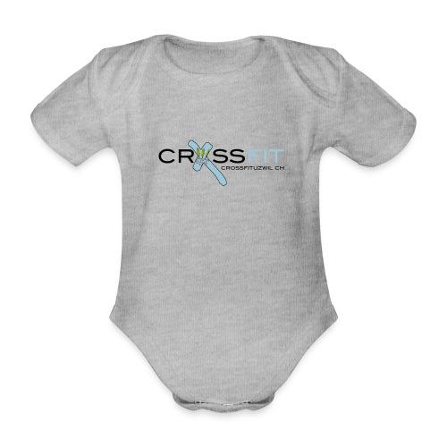 Logo klein - Baby Bio-Kurzarm-Body