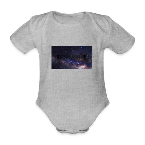 EMILJJOHANSSON - Ekologisk kortärmad babybody