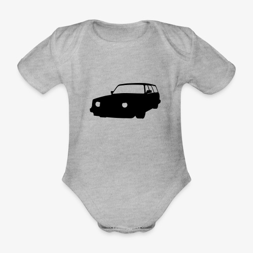 bassbrick - Organic Short-sleeved Baby Bodysuit