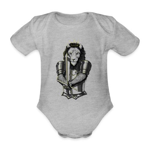 Löwe Duell - Baby Bio-Kurzarm-Body