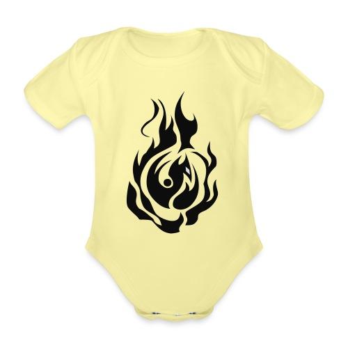 feu - Body Bébé bio manches courtes